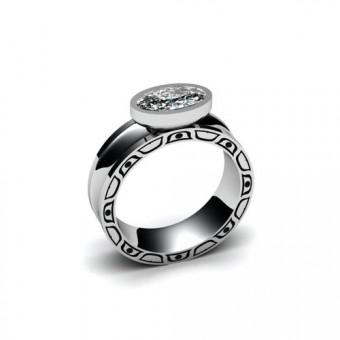 Женские кольца на заказ. Модель К-1020