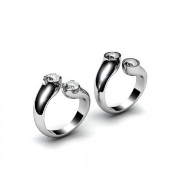 Женские кольца на заказ. Модель К-1052
