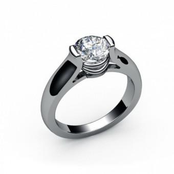 Помолвочные кольца на заказ. Модель ПК-1024