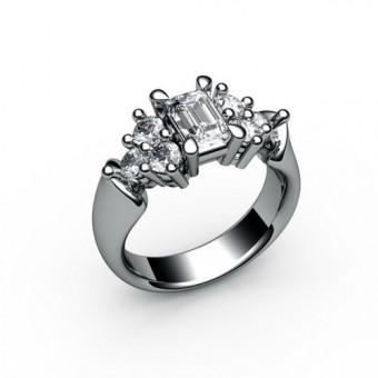 Помолвочные кольца на заказ. Модель ПК-1035