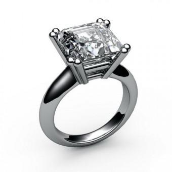 Помолвочные кольца на заказ. Модель ПК-1046