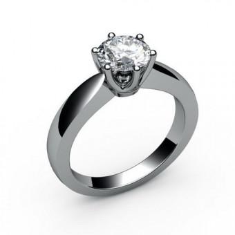 Помолвочные кольца на заказ. Модель ПК-1071