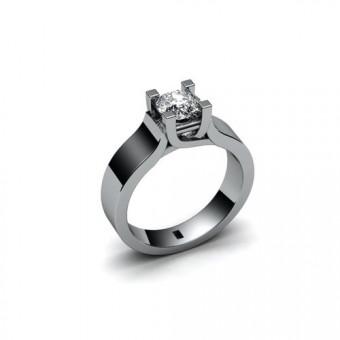 Помолвочные кольца на заказ. Модель ПК-1087