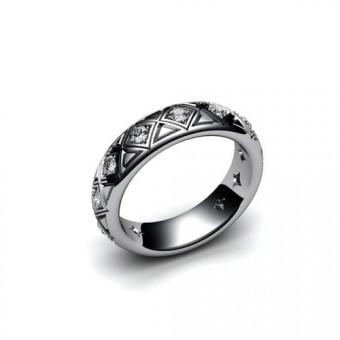 Свадебные кольца на заказ. Модель СК-1018