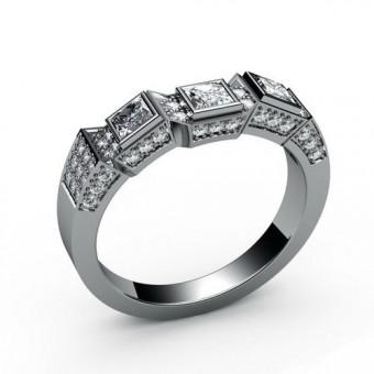 Свадебные кольца на заказ. Модель СК-1176