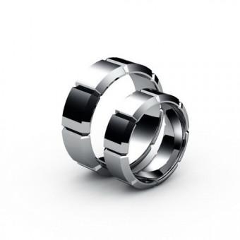 Свадебные кольца на заказ. Модель СК-1008ж