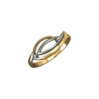 Кольца на заказ. Модель 3DR-1039