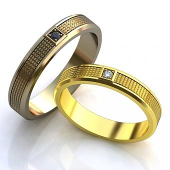 Обручальное кольцо на заказ. Модель obr-131