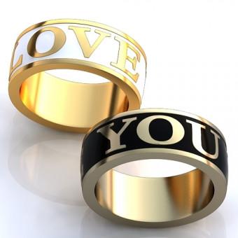 Обручальное кольцо на заказ. Модель obr-100