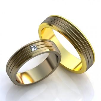 Обручальное кольцо на заказ. Модель obr-11