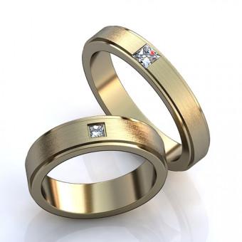 Обручальное кольцо на заказ. Модель obr- 9