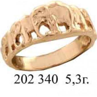 Кольца без вставок на заказ. Модель 202340