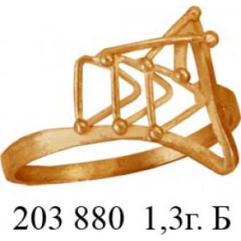 Кольца без вставок на заказ. Модель 203880