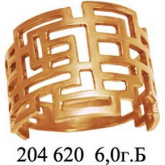 Кольца без вставок на заказ. Модель 204620