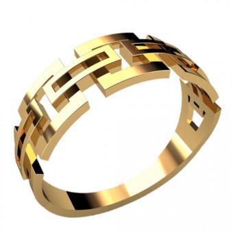 Кольца без вставок на заказ. Модель 2349