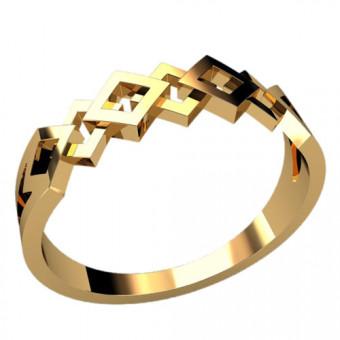 Кольца без вставок на заказ. Модель 2354