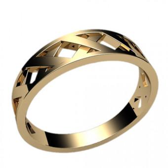 Кольца без вставок на заказ. Модель 2386