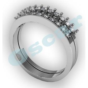 Обручальные кольца на заказ. Модель Os 2000
