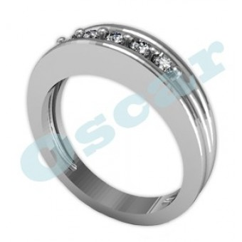 Обручальные кольца на заказ. Модель Os 2001