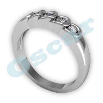 Обручальные кольца на заказ. Модель Os 2002