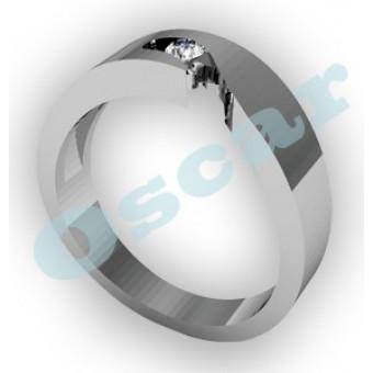 Обручальные кольца на заказ. Модель Os 2004