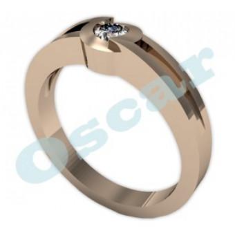 Обручальные кольца на заказ. Модель Os 2006