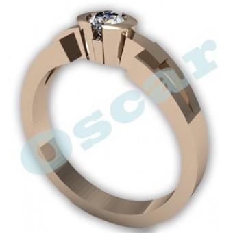 Обручальные кольца на заказ. Модель Os 2007