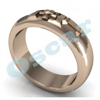 Обручальные кольца на заказ. Модель Os 2009