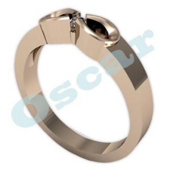 Обручальные кольца на заказ. Модель Os 2010