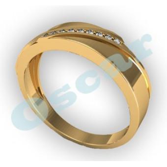 Обручальные кольца на заказ. Модель Os 2011