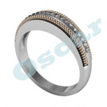 Обручальные кольца на заказ. Модель Os 2012