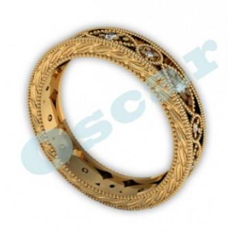 Обручальные кольца на заказ. Модель Os 2014