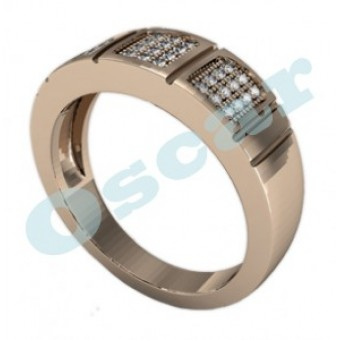 Обручальные кольца на заказ. Модель Os 2024