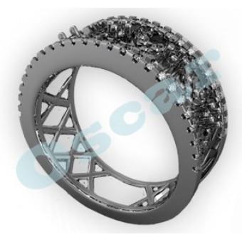 Обручальные кольца на заказ. Модель Os 2025