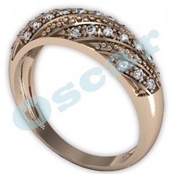 Обручальные кольца на заказ. Модель Os 2028