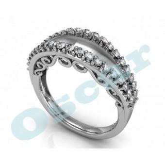 Обручальные кольца на заказ. Модель Os 2029