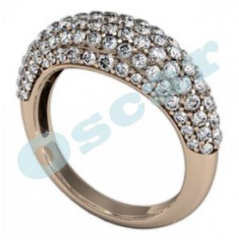 Обручальные кольца на заказ. Модель Os 2030