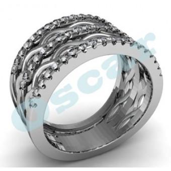 Обручальные кольца на заказ. Модель Os 2032