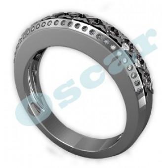 Обручальные кольца на заказ. Модель Os 2033