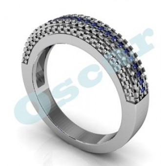 Обручальные кольца на заказ. Модель Os 2035