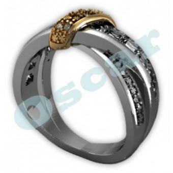 Обручальные кольца на заказ. Модель Os 2036