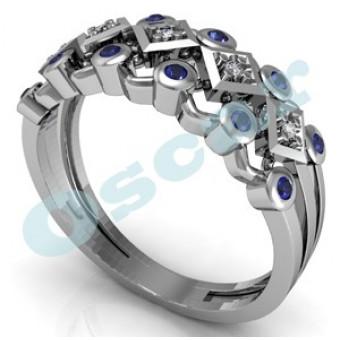 Обручальные кольца на заказ. Модель Os 2037