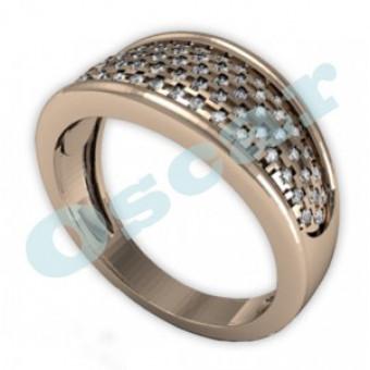Обручальные кольца на заказ. Модель Os 2039