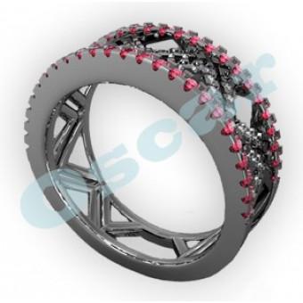 Обручальные кольца на заказ. Модель Os 2040