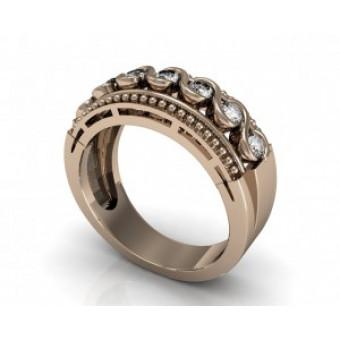 Обручальные кольца на заказ. Модель Os 2041