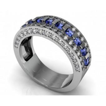 Обручальные кольца на заказ. Модель Os 2042