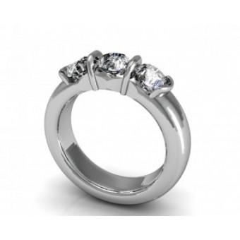 Обручальные кольца на заказ. Модель Os 2044