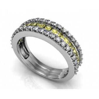 Обручальные кольца на заказ. Модель Os 2045