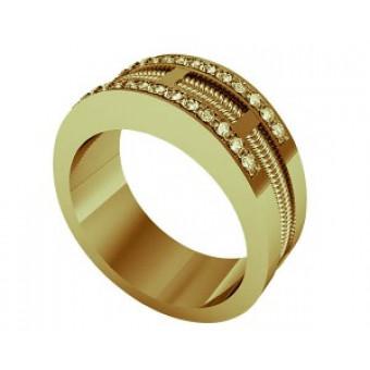 Обручальные кольца на заказ. Модель Os 2046