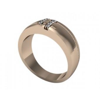 Обручальные кольца на заказ. Модель Os 2048